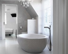Badkamer Met Gietvloer : Gietvloer badkamer be vloer visie