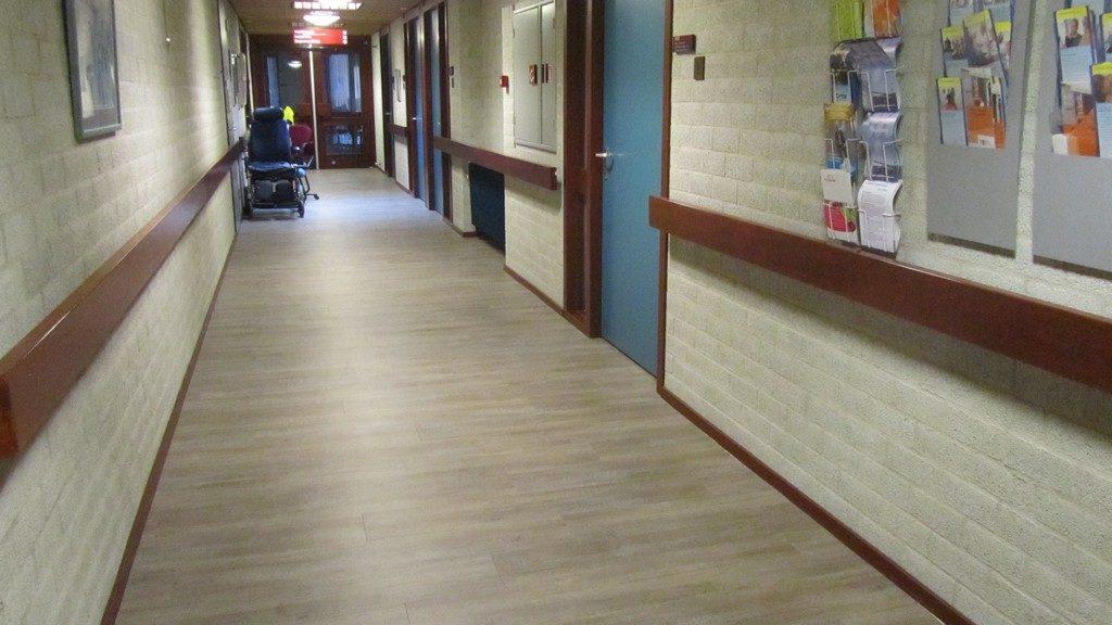 Ziekenhuis pvc vloer be vloer visie